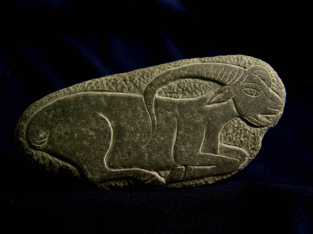 کنده نگاری بر روی سنگ طبیعی رودخانه هراز، روستای پلور