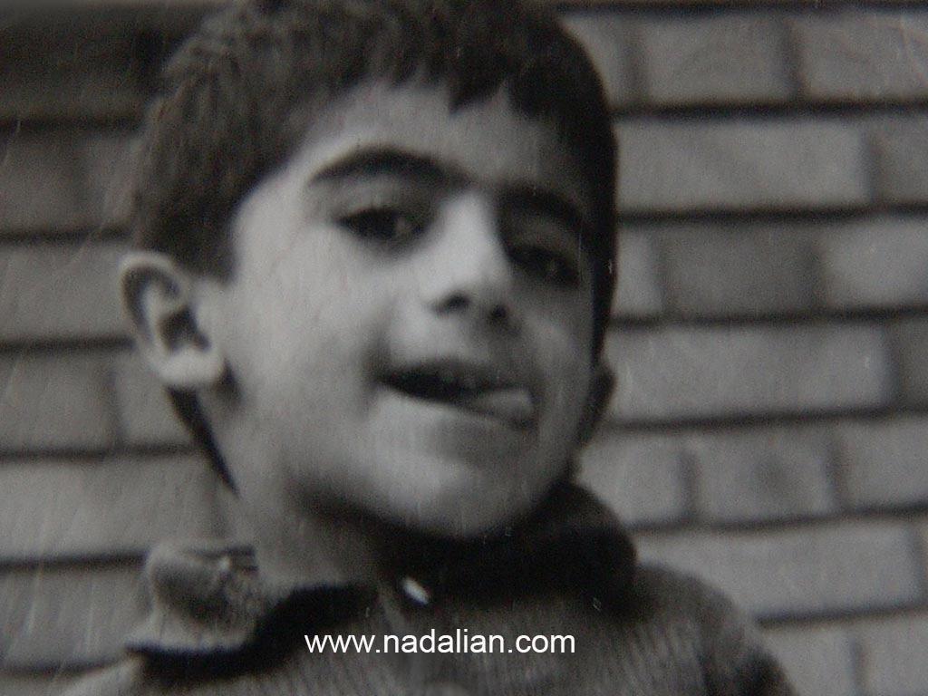 عکس دوران کودکی احمد نادعلیان