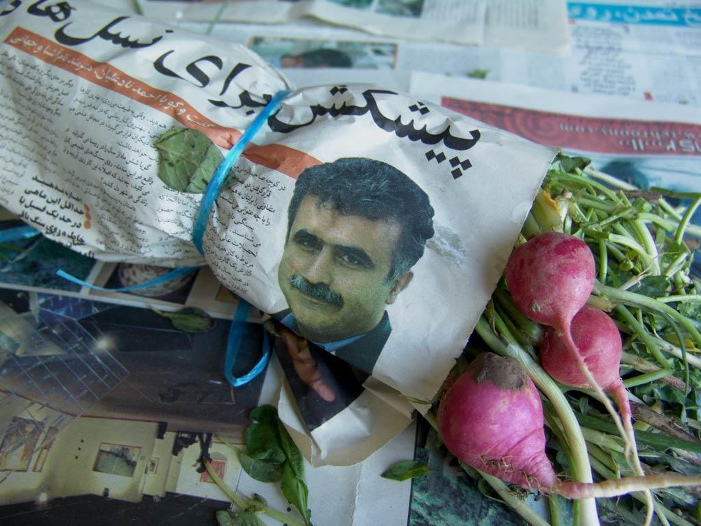 هنر بازیافت - مصاحبه با احمد نادعلیان در روزنامه ها