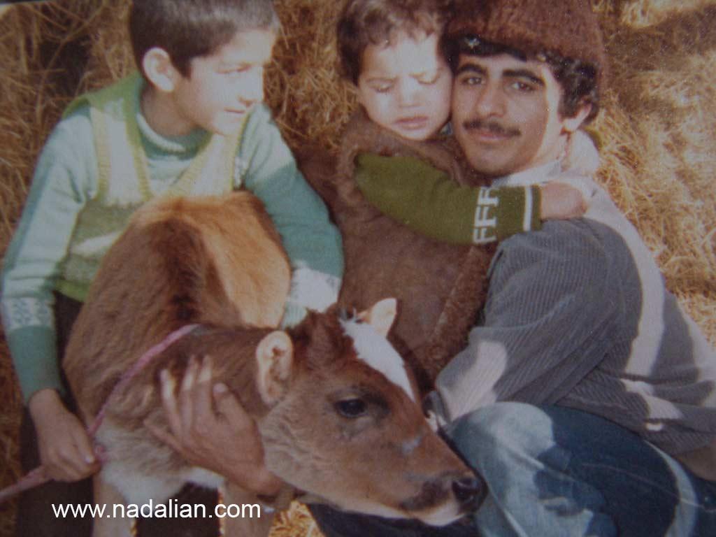 سفر خانوادگی احمد نادعلیان به روستای یساقی در نزدیکی گرگان