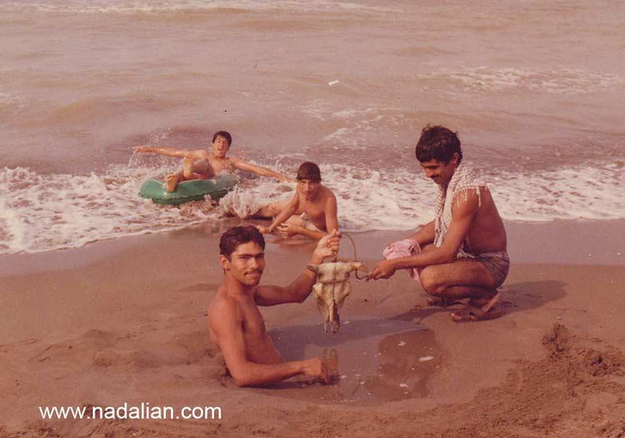 سفر با چند نفر از دوستانم به سواحل دریای خزر (سیسنگان)