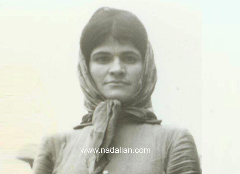 عکس مادر احمد نادعلیان در سال های اول زندگی در تهران