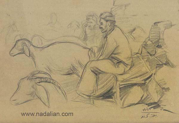 طراحی احمد نادعلیان از فضای شیر دوشیدن ییلاق گل زرد