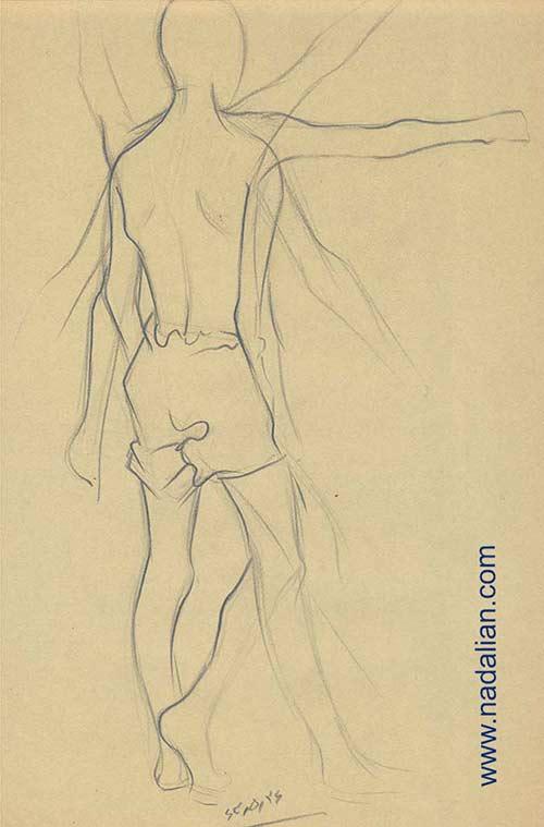 طراحی اندام انسان تابستان 1363