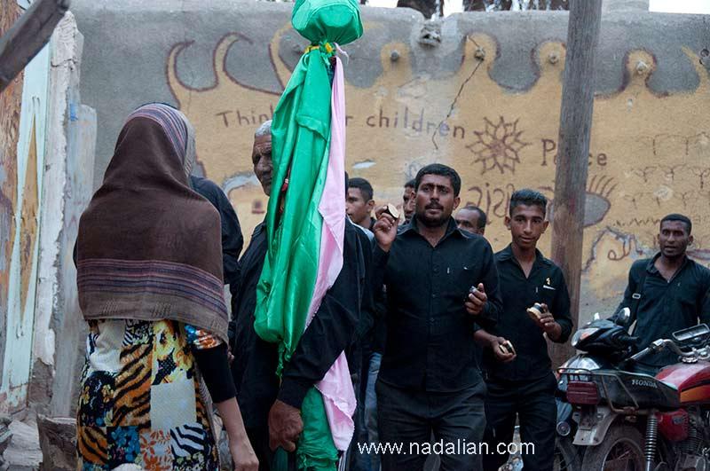 Ashura mourning ceremony in Hormoz Island