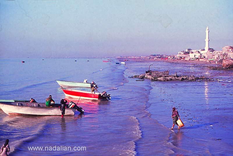 چشمنداز غربی بازار قدیم ماهی فروشان بندر عباس
