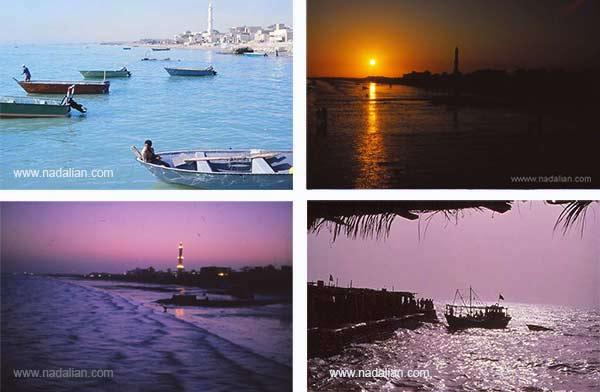 اسلاید های چشمنداز غربی بازار قدیم ماهی فروشان، بندر عباس
