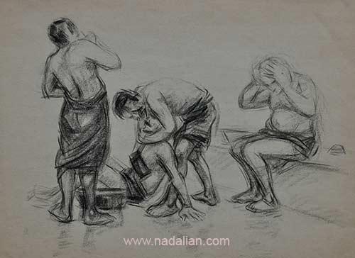 طراحی اندام در حمام عمومی چهار راه کوکاکولا احمد نادعلیان