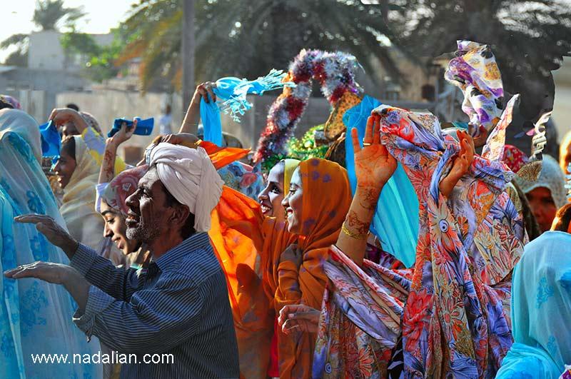 Wedding ceremony and dance , Hormoz Island