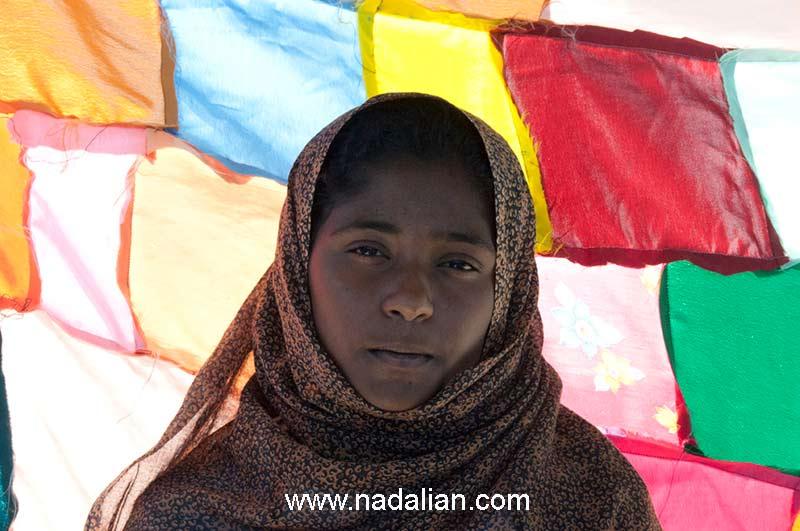 در روز دوم دو تا از دخترها که احمد نادعلیان را همراهی کردند