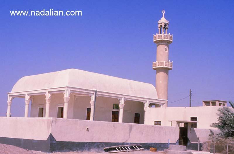 یک مسجد در سواحل غربی هرمزگان