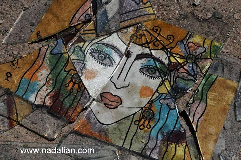 آثار هنری اجرا شده توسط زنان که به دلیل تعصب شکسته شد